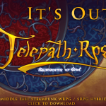 Telepath RPG: Servants of God Released