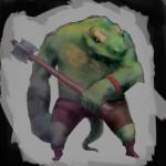 Telepath Tactics - Lizardman Concept Art
