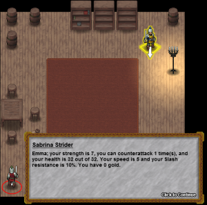 Stats in Dialog