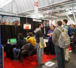 Pax East Sinister Design Booth